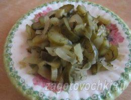 консервированный салат из огурцов