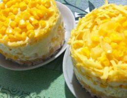 салаты с ананасами