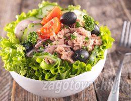 Салат из тунца - простые рецепты